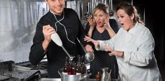 imbottigliati in cucina