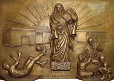 altorilievo in bronzo S Marrocco