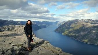 Strapiombo sul Lysefjord