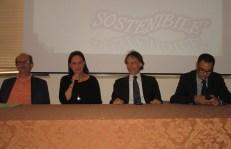 Da sinistra Pantaleo Pagliula, Emilia Fracella, Marcello Risi, Carlo Falangone