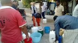La distribuzione dell'acqua nel campo