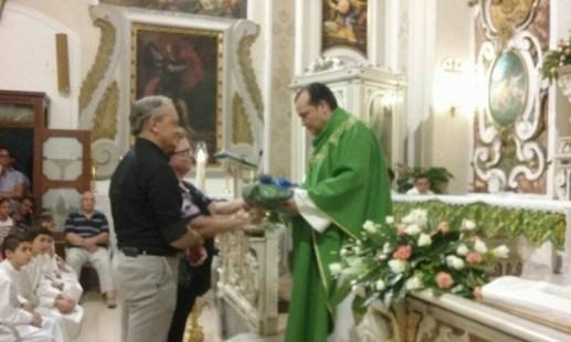 Don Luigi, messa di saluto
