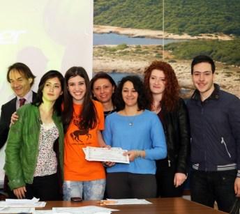 sindaco di Nard, M.Teresa Spinola, Giulia Manco, Francesca Franza, occhilupo Marta, Piccolo aurora e Daniele Oliveti