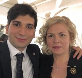 Gabriella Marrella e Francesco Gianfreda