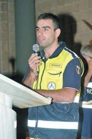 Tiziano Esposito, presidente protezione civile