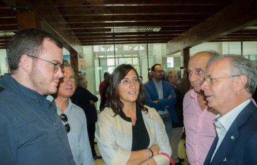 L'incontro di alcuni amministratori dell'area del Gal Terra D'Arneo col presidente Cosimo Durante