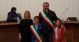 Consiglio comunale baby 2016 Casarano - assessore Laura Parrotta, Giuse...