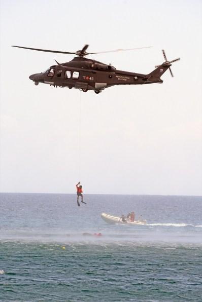Elicottero HH139A in soccorso