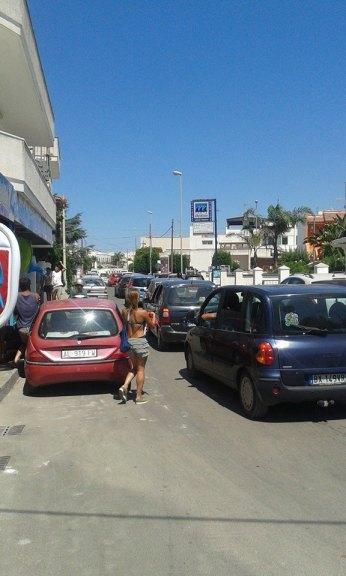Traffico a Torre San Giovanni (1)