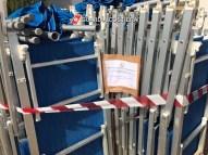 Ombrelli e lettini sequestrati a Pescoluse (1)