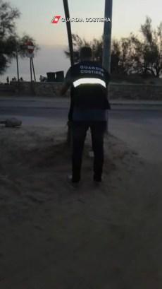 Porto Cesareo, l'area parcheggio sequestrata (3)