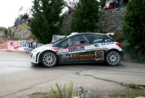 Adamuccio Tridici vincitori 8° Rally 5 Comuni (Foto Andrea Calsolaro)