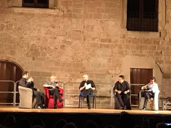 Galatone - Parroci sul palco (1)