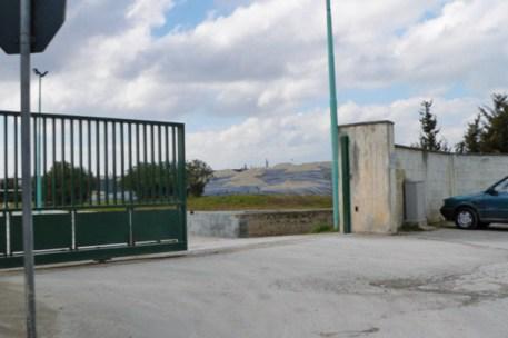 discarica (cancello ingresso)