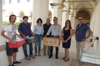 Museo preistoria con assessore Natalizio