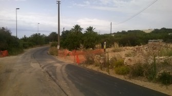 Circonvallazione - i lavori su via Pineta