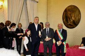 Eugenio Serino, il procuratore Maruccia e il commissario Quaranta