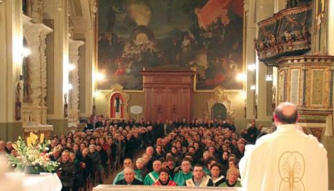 La chiesa Matrice di Casarano (foto Pejrò)
