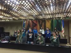 La scuola di Patù in visita al Consiglio Regionale (3)