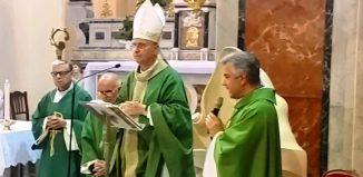 Mons. Angiuli e don Antonio De Giorgi