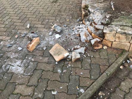 Vandalismo nella Villa Comunale - Notte 31dic.