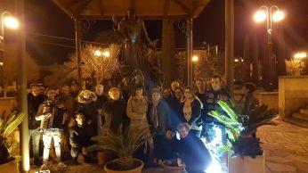 Il gruppo Iride e i cantori della parrocchia di Sant'Antonio