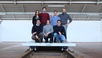 Il gruppo di studio del progetto IronLev con Lorenzo Parrotta in basso a sinistra