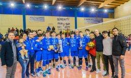L'under 16 di Alessano campione provinciale (foto Melcarne)