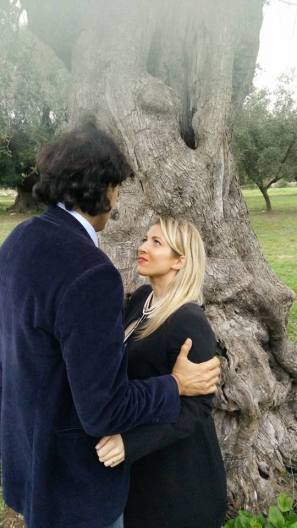Sara Matarrese e Francesco Martinelli
