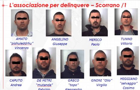 Arresti Scorrano 1