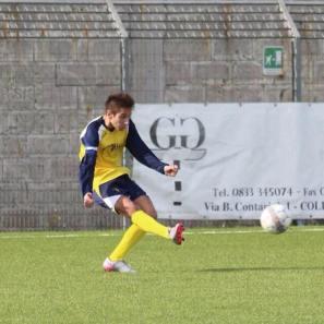 Matteo Porcino in azione