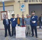 Festa patronale a Matino, a sinistra il presidente del comitato festa Vencesclao Marsano