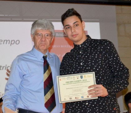 Salvatore Grezio premiato