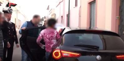 L'arresto di Ines Stamerra a Melissano