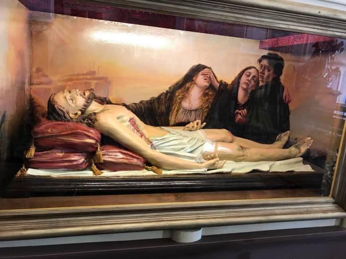 Sfondo del Cristo Morto