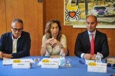 Diego Blasi,Teresa Elvira Sambati e Francesco Sticchi Damiani (foto L. De Marianis)