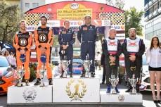 Rally del Salento 2017, il podio (foto L. D'Angelo)
