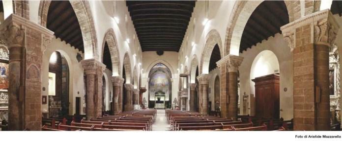 Nardò - l'interno della cattedrale
