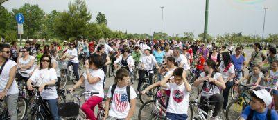 Galatone, passeggiata in bicicletta (foto Skakkomatto)