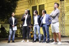 Lorenzo Falangone, Alessio Antico, main sponsor Goldbet, Maurizio Fanuli e Manuel Mazzotta