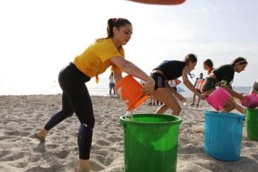 Miss Mondo Sport spiaggia