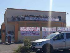 call center Gallipoli proteste 3