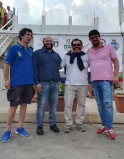 Da sinistra, Marco Pisacane, Stefano Minerva, Bartolo Ravenna, Mino Nazaro