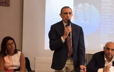 il presidente Donato De Giorgi,