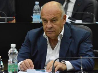 L'assessore regionale Giovanni Giannini
