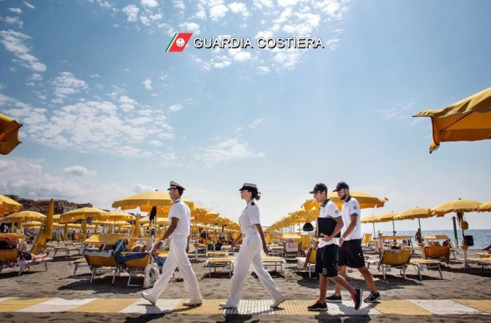 Guardia costiera, controlli stabilimenti balneari