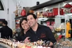 Valentino Maturo e la moglie