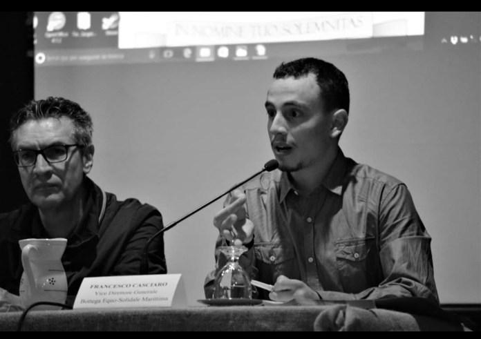 Don Remo Esposito (a sinistra) e Francesco Casciaro