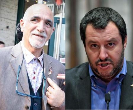 Giovanni Minerba e Matteo Salvini