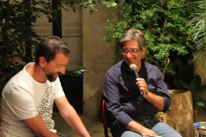 Luciano Pagano (a sinistra) e Vito Adamo (a destra)